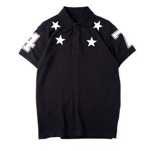 Мужские Стилисты рубашки поло Mens 2020 Стилист Одежда с коротким рукавом Мужская мода Летняя футболка Размер S-XXL