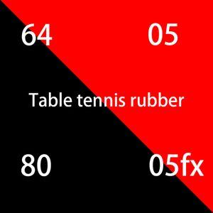 Bıçak pinpon bıçak masa tenis raketi pinpon kauçuk için yüksek kaliteli kırmızı sünger masa tenisi kauçuk İndirim