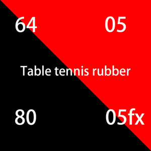 Venta esponja roja de goma de tenis de mesa de alta calidad para la hoja de ping pong pala de tenis de mesa goma raqueta de ping-pong