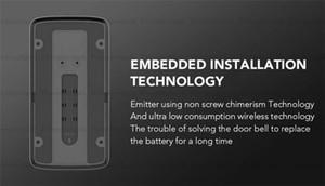 EKEN V5 Смарт Видео Домофон Видео-Телефон Двери Дверной Звонок WI-FI Дверной Звонок Камеры Для Дома ИК-Сигнализация Беспроводная Камера Безопасности