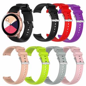 20 мм спортивная Силиконовая лента для Samsung Galaxy Watch SM-R810 42 мм Gear 2 Sport Strap для Huami Amazfit Bip/Amazfit 2 Smart Watch
