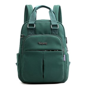 sırt çantası bilgisayar çantası büyük kapasiteli seyahat sırt çantası Koleji Wind şarj yeni Bayan gündelik sırt çantası gelgit USB