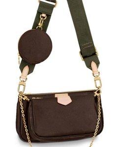 bolsos de la marca MULTI POCHETTE ACCESSOIRES 2019 nuevo bolso de hombro de la cadena pequeña bolsa de marca Crossbody bolsos de lujo del diseñador bolsos de moda de las mujeres