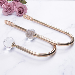 Window Hanger Tassel Hooks Holder Curtain Holdback Wall Mounted Living Room Gadgets Crystal Ball