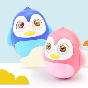 Bébé Pingouin Tumbler Hochet Bébé Attraper Boule musicale éducation Jouets pour bébé Bébé Garçons Filles