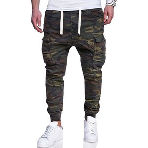 Camouflage Military Jogger Pants Mens Winter Camouflage Joggers Harem pants Men cotton Comfortable Camo Tactical pants T200706