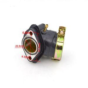 Мотоцикл карбюратор впускной коллектор трубное соединение для GY6-125 GY6 125 125cc китайский скутер мопед ATV TaoTao детали двигателя
