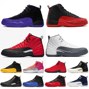 Nike Air Jordan Retro 12 novo barato 8 s viii sapatos de basquete homens aqua chrome pack playoff três turfa respirável treinamento sports sneakers eur 40-47