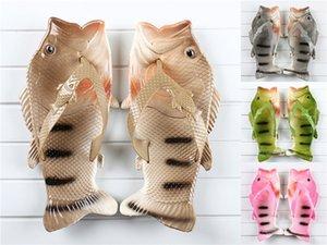 2020 Plataforma Blanca de Verano pescados de las mujeres Zapatillas hebilla Diseño Negro Fish deslizadores cómodos Mujeres suela gruesa playa de calzado T200529 # 610