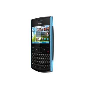 Remis à neuf Nokia X2-01 2.4inch Téléphone mobile GSM caméra WCDMA téléphone débloqué 1320mAh batterie portable MP3 avec Retail Box 1pc