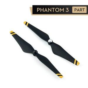 DJI Phantom 3 Hélices 9450 fibra de carbono reforzada rayas autoajustable Hélices Phantom 3 accesorios profesionales