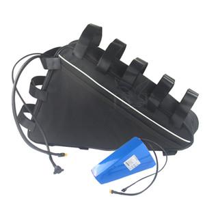 Vélo Extérieure Imperméable Rechargeable Batterie 52v 30ah ebike Batteries haute capacité pour moto 500W à 1250W avec chargeur + sac