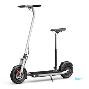 fashion-NEXTDRIVE N-7 300W 36V 10.4Ah Foldable Electric Scooter With Seat For Adults Kids 26 Km h Max Speed 18-36 Km Mileage E-scooter
