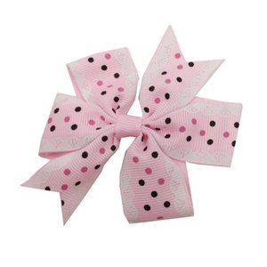 Toddler Baby Girl Dots Bownot Hairpin Cute Headwear Candy Color Buckle Hair Accessories For Chld Kids Girls Harisgrips