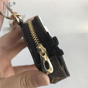 حامل - لطيف عملة ريال الفراء الفراء سحر حامل مصغرة بطاقات جلدية ماجيك فور جيب محفظة MX190816 مفاتيح البومة المفاتيح حقيبة قلادة سستة TESDG