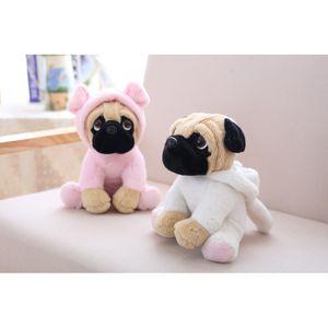 20CM Stuffed Simulation Dogs Plush Sharpei Pug Lovely Puppy Pet Toy Plush Animal Toy Children Kids Birthday Christmas Gifts