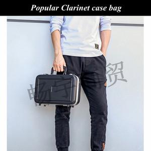 Popular clarinete saco caso à prova de choque impermeável mochila caso Parts portátil caixa dura instrumento de sopro