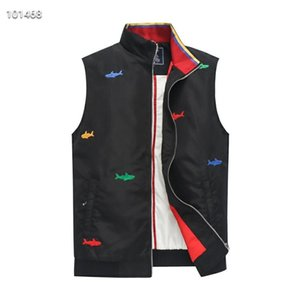 new Men Top Quality Down Hoodies Jackets Colorful fish embroidery Camping Windproof Ski Warm Down Coat Outdoor Casual Hooded Sportswear vest