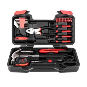 Herramienta husky Set 39pcs Socket Ratchet Wrench Automóvil Professional Repair Tools Kit