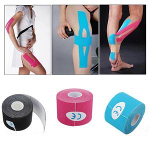 5 cm * 5 m Bantlama kinesiyoloji bant kinesiologico yapıştırıcı spor bant kas cinta kinesiologica kinesiotape spor elastik bandaj