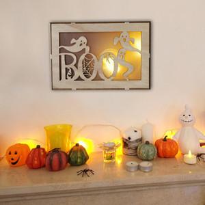 Ornamenti sospesi creativi di Halloween a forma di pipistrello di luna con motivo a pipistrello a forma di pipistrello di Halloween