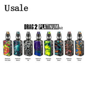Voopoo DRAG 2 Platinum Kit 177W with UFORCE T2 Tank N3 Triple Mesh Coils U2 Dual Coils New Drag 2 100% Original