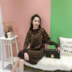 2020 concepteur de luxe des femmes de bouton -neck de sweaterWomen dame manches longues Cardigan pull oversize luxe womans vêtements femmes cavalier