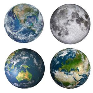 لغز جولة القمر / الأرض 1000 قطعة لعب التعليم للأطفال الكبار الكواكب لغز تخفيف الضغط اللعب هدية الطفل
