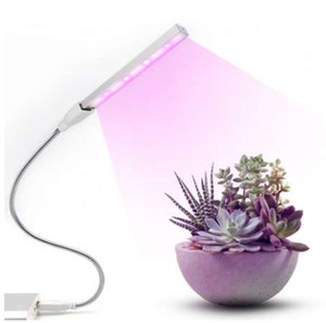 Phyto lampada 10 Rosso + 4 Blu DC5V 3W Regolabile Grow led full spectrum led pianta coltiva la luce 2835 led plant grow Tube lights
