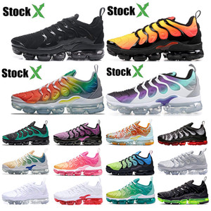 nike air vapormax plus tn Flash-Angebote Reverse Sunset Grape Klassische Olivgrüne Hyper Violet Damen und Herren Running Designer Luxus Schuhe Sneakers