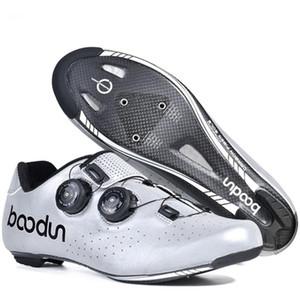 Boodun Breathable Professional cycling shoes Ultralight women men Mountain road Riding MTB bike shoes race Work