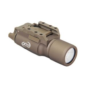 Tactical SF X300 Gun Light 400 lumens Ouput LED White Light Aluminium Alloy Construction