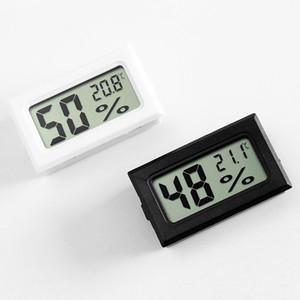 Mini Digital LCD Ambiente termômetro higrômetro Umidade Temperatura Medidor Frigorífico Temp Tester precisa Sensor Atacado DBC BH3861
