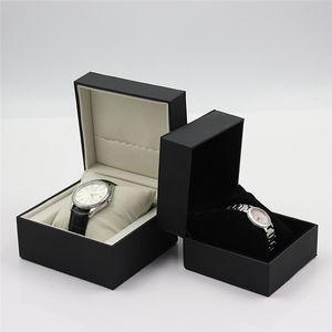 Часы Box Черный Кожа PU Jewelry Box хранения с Ортопедический Single Slot часы Подарочная коробка для мужчин и женщин