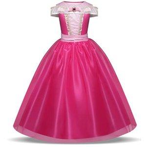 Yeni Noel büyük kızlar kolsuz uyku güzellik prenses elbise uzun etek elbise