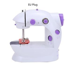 Yaratıcı Ev elektrikli Mini Dikiş Makinesi Küçük Otomatik Mikro Mini Küçük Elektrikli Dikiş Makinesi