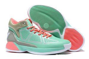 Top Quality Men D Rose 10 Tênis Boardwalk basquete Derrick Rose X MVP Bounce High Cut Sports Sneakers frete grátis EUA 7-11,5