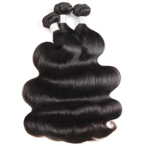 12A 느슨한 웨이브 Raw Human Hair Extensions 3 / 4Bundles 킨키 컬리 바디 웨이브 톱 그레이드 퀄리티 브라질 페루 말레이시아 인디언 헤어 뭉치