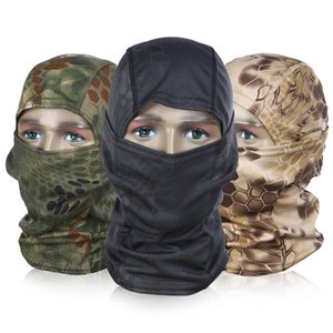 3 PCS Face Cover Motorcycle Windproof Camouflage Face Cap for Cycling Fishing Camping Hiking