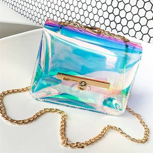 Purse Shoulder Bag Messenger Holographic Clear Tote Transparent Baga Hologram Crossbody New Laser Fashion Handbag Women Bmtpg