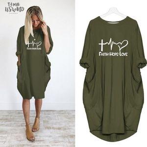 2020 New Fashion Shirts Fashion Faith Hope Love Letters Print Tops Tshirt Funny Kyliejenner Rock Tshirt Women Plus Size