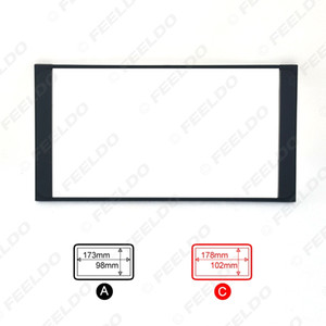 Car Refitting 2DIN DVD Frame DVD Panel Dash Kit Fascia Radio Audio Frame For Toyota Prado 4500 Camry PREVIA VIOS COROLLA #2295