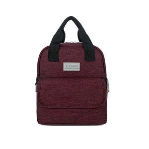 Mamã nova Backpack baby bolsas garrafa de armazenamento Mom Preservação Outdoor Grande Capacidade Picnic Mochilas BNA051
