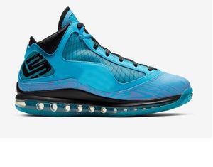고품질 제임스기를 디자이너 스포츠 스니커즈 7-1 냉각 장치 (7 개) 페어팩스 (7) 모든 스타 레드 카펫 남성 농구 신발 화이트 블랙 레드 유리 블루