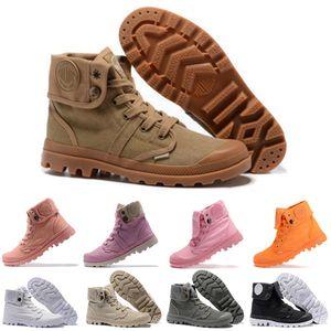 Palladium Boots Оригинальные Палладиевые Сапоги Женщины Мужчины Дизайнер Спорт Красный Белый Розовый Черный Camo Зимние Кроссовки Повседневная Кроссовки Ботильоны размер 35-45