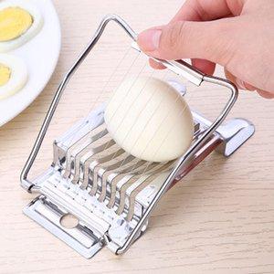 strumenti creativo all'ingrosso attrezzo della cucina in acciaio inox Egg taglierina multifunzionale Cutter Egg Cutter Accessori cucina