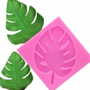 3D дерево лист формы Sugarcraft Leavf силиконовые формы помадной торт украшения TOOLS листьев шоколада gumpaste формы T1134