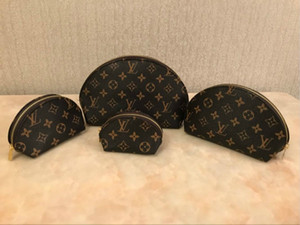 luxury wallet L flower 4pcs make up handbag bags quality composite 4 pieces set women make up purses wallet bags