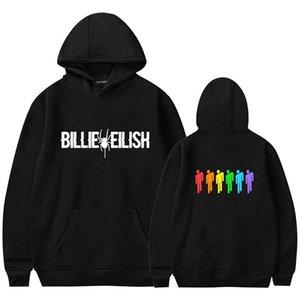 Billie Eilish Fashion Printed Hoodies Women Men Long Sleeve Hooded Sweatshirts 2020 Hot Sale Casual Trendy Streetwear Hoodies