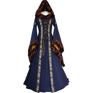 Medieval viktorianischen Vintage-Lolita Kleid Brautkleid Halloween-Kostüm-Abend